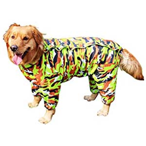 GabeFish Waterproof Pets Raincoat - Best Raincoats for Corgis: Extremely durable and strong