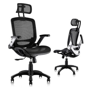 Gabrylly Ergonomic Mesh Office Chair  - Best Office Chair Under $500: Four Supporting Points