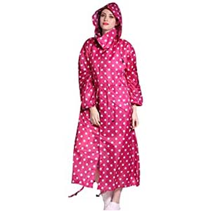 Gagacity Women Hooded Raincoat Parka - Best Raincoats for Disney: Get ready for compliments