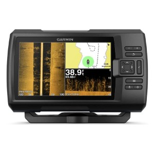 Garmin Striker 7SV with Transducer - Best Fish Finders GPS Combo Under $500: CHIRP ClearVü and CHIRP SideVü Scanning Sonars