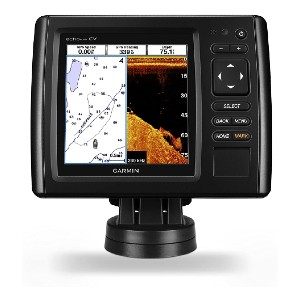 Garmin echoMAP CHIRP 54cv with transducer - Best Fish Finders GPS Combo Under $500: ClearVü Scanning Sonar