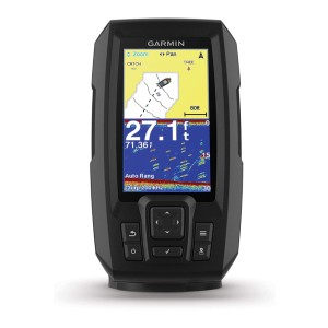 Garmin Striker Plus 4 with Dual-Beam Transducer - Best Fish Finders for Saltwater: Crystal-Clear Images Display