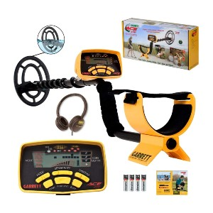 Garrett ACE 250 with Water-Proof Searchcoil and Headphones - Best Metal Detector under 300: Eight Sensitivity Settings