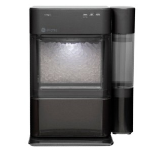 Ge Profile Portable Ice maker with Nugget Ice Production and WiFi - Best Portable Ice Maker: Ice Maker with WiFi Connection