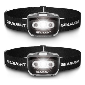 GearLight  LED Headlamp Flashlight S500 - Best Headlamps with Red Light: Super Bright and Long-Lasting