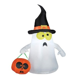 Gemmy Inflatable Ghost - Best Halloween Decorations Outdoor: Cute inflatable ghost