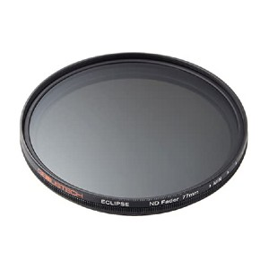 Genustech 77mm Eclipse ND Fader Filter  - Best ND Filters for Video: Get adequate lighting