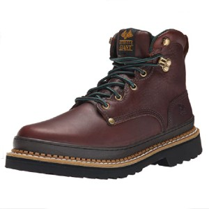 Georgia  Giant Work Boot - Best Safety Shoes for Plantar Fasciitis: Oil-Resistant Work Shoes