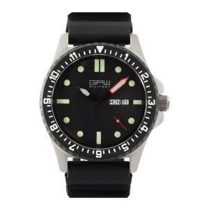 GPW Military Day Date - Best Durable Watches for Construction Workers: Impossible to scratch