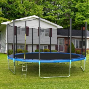 Giantex 15Ft Trampoline with Safety Enclosure Net - Best Trampoline for Kids and Adults: More bounce for your buck