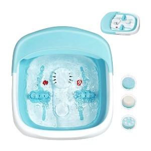 Giantex Heated Foot Spa Bath Massager - Best Foot Spa with Pumice Stone: Anti-skid bumps