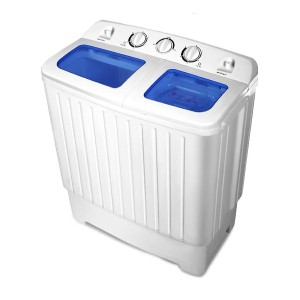 Giantex Portable Mini Compact Twin Tub Washing Machine  - Best Washers Under 600: Ideal for weekly laundry
