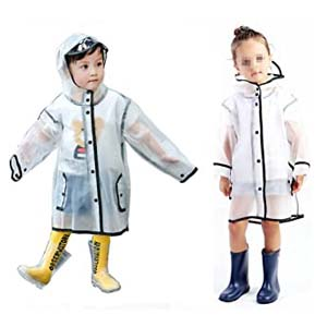 Gigabit  Kids Clean Rain Coat - Best Raincoats for Toddlers: Fashionable style