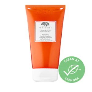 GinZing™ Refreshing Scrub Cleanser - Best Face Scrub for Oily Skin: Scrub for Brighter Skin