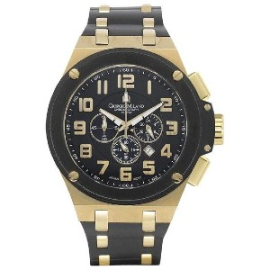 Giorgio Milano Chronograph Rubber Mens Watch - Best Waterproof Watches: Stunning Look For Time Teller