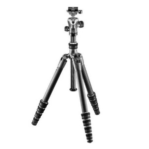 Gitzo Series 1 Traveler Carbon Fiber Tripod - Best Tripods for Macro Photography: 5 sections compact tripods