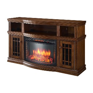 Muskoka Glendon Electric Fireplace - Best Electric Fireplace Freestanding: Comes with two side cabinets