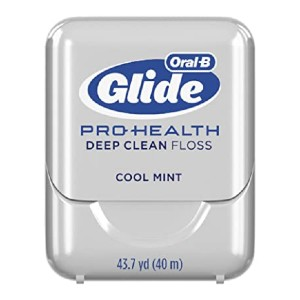 Oral-B Glide Pro-Health Deep Clean Floss - Best Dental Floss for Plaque Removal: Gentle or tough? Both!