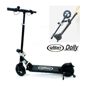 Glion Dolly Foldable Lightweight Adult Electric Scooter - Best Electric Scooter for Adults 250 lbs: Best portable pick