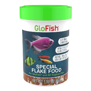 GloFish Special Flake Dry Fish Food - Best Fish Food for Neon Tetras: Carbohydrate Formulation