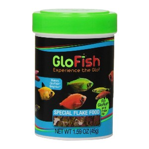 GloFish Colorful 4 Flake Blend Food - Best Fish Food for Fast Growth: Unique Formulation