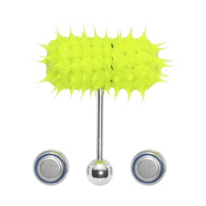BodyCandy Glow in the Dark Spike Thrasher - Best Jewelry for Tongue Piercing: It will massage you!