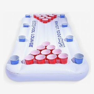GoPong Floating Beer Pong Table - Best Floats for Adults: Perfect for pool party