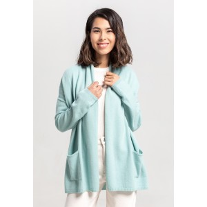 Gobi Relaxed Shawl Cardigan - Best Cardigans for Women: Simple and Relaxed Fit Cashmere Cardigan