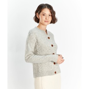 Gobi Cable Knit Cardigan - Best Cardigans for Women: Simple Cable Knit Cashmere Cardigan