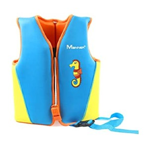 Gogokids Kids Swim Vest Float Swimsuit - Best Floats for Toddlers: Extra protection with whistle