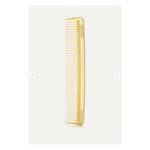 Balmain Gold-plated Cutting Comb - Best Hair Brushes: Made From Gold-plated Petal