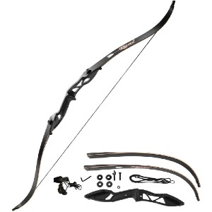 Gonex Takedown Recurve Bow - Best Recurve Bows for Hunting: Multiple Layers of Fiberglass Maple Material