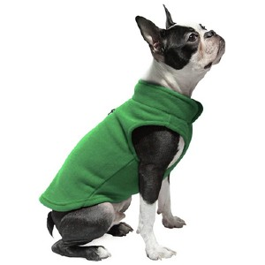 Gooby Dog Fleece Vest - Best Clothes for Dogs: Stylish and functional