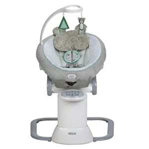 Graco EveryWay Soother Baby Swing - Best Baby Swings for Small Spaces: Sixteen soothing motions