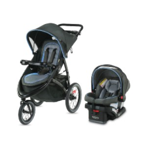 Graco FastAction  - Best Stroller Jogger Travel Systems: Includes a 2-Cup Tray for Parents and Child