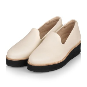 Gram 242g panna leather - Best Flat Shoes for Women: Flats with Extra Height
