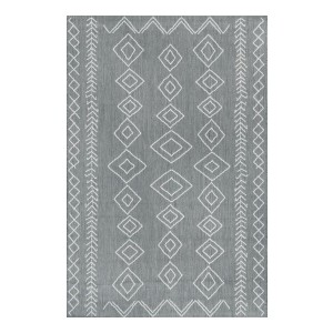 Rugs USA Moroccan Diamonds Indoor/Outdoor Area Rug - Best Rug to Have with Dogs: Best for both indoor and outdoor