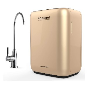 GreatWell ROG400  - Best Tankless RO Water Filter System: Three individual filter's life.