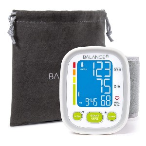 Greater Goods Wrist Blood Pressure Monitor - Best Wrist Blood Pressure Monitor: Interactive monitoring features
