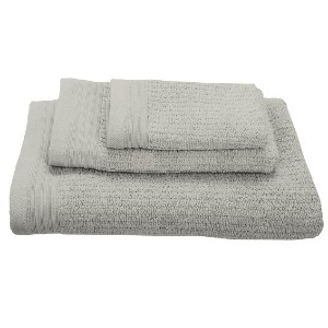 Green Earth Quick Dry Micro Cotton - Best Bath Towels Quick Dry: Textured and Ribbed with Moisture-Wicking Properties