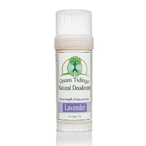 Green Tidings Natural Deodorant - Best Deodorant for Women: Natural Thickener and Moisturizer