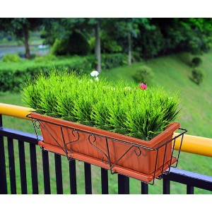 ZMOCEN Shrubs Wheat Grass - Best Artificial Plants for Outdoors: Multifunctional Decoration