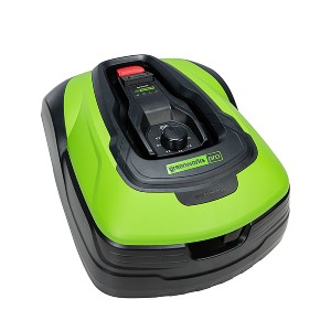 Greenworks Optimow - Best Robotic Lawn Mower for 1/2 Acre:  For little bumpy ground