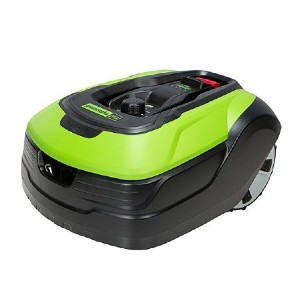 Greenworks Optimow Robotic Lawn Mower - Best Robotic Lawn Mower for Uneven Ground: For little bumpy ground