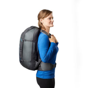 Gregory TRIBUTE 40 BACKPACK MYSTIC GREY - Best Backpack for Travel: The three paddled handled backpack
