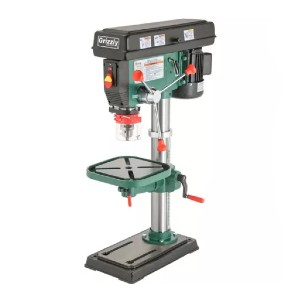Grizzly G7943  - Best Drill Press for Woodworking: Precision-Ground Cast-Iron Table