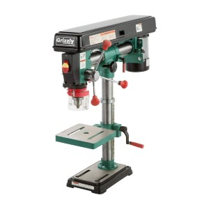 Grizzly G7945  - Best Drill Press for the Money: Features Variable Swing