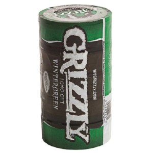 Grizzly Long Cut Smokeless Tobacco, Wintergreen - Best Smokeless Tobacco: Long Cut Smokeless Tobacco