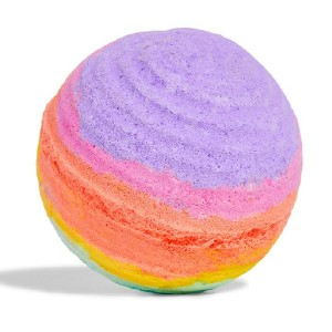 LUSH Groovy Kind Of Love - Best Bath Bomb for Relaxing: Melting Into Rings of Rainbow Colors
