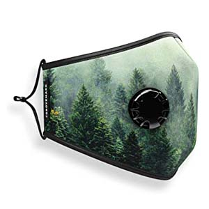 Grove Mask Face Mask with 7X PM2.5 Filters - Best Masks for COVID: Nature lovers will fall in love